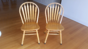 Dining chairs - country style x 8 Warragul Baw Baw Area Preview