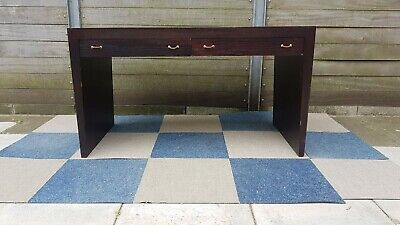 Slimline desk with 2 drawers