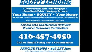 Banks said NO WAY? Call me TODAY! Fast 1st and 2nd Mortgages!