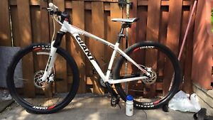 GIANT XTC 29er mountain bike