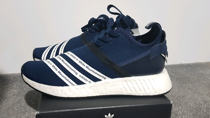 Adidas NMD R2 White Mountaineering Navy