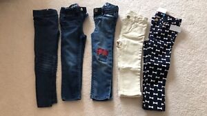 5 pairs GapKids Jeans size 3 years