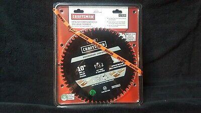 ~NEW~ Craftsman 10 In. 60T Compound Miter Saw Blade Thin Kerf