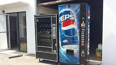 Dixie Narco 440-7 Coke Soda Vending Machine Ap 7000 Snack Vending Machine
