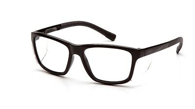 Pyramex Conaire Clear Lens Safety Glasses Built In Side Shield Wrap Z87