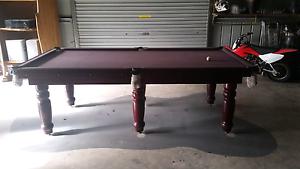 Slate pool table Bundaberg Central Bundaberg City Preview