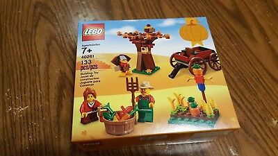 LEGO 40261 Thanksgiving Harvest 2017 Holiday Seasonal Set free shipping