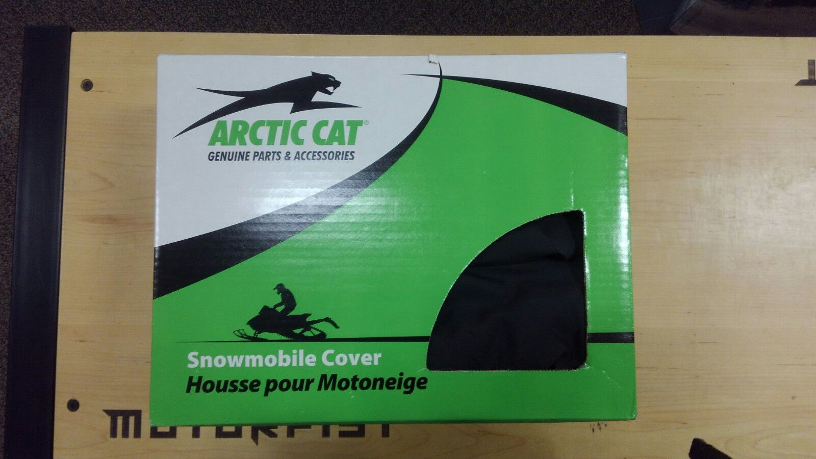 """6639-655 black/Orange snowmobile cover """"M"""" and """"XF"""" sleds 2012-2017"""