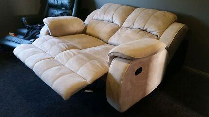 Twin reclining sofa Harrington Park Camden Area Preview