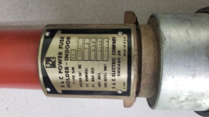 S&C 200 Amp 7.2Kv Fuse  Sm-4B Cat# 86661