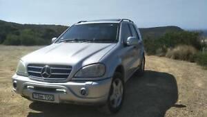 Mercedes-Benz ML55 AMG V8 Gwandalan Wyong Area Preview