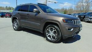 2018 Jeep Grand Cherokee STERLING EDITION- DVD- NAV- TOW-  10,80