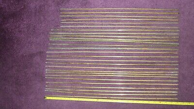 Vintage brass stair rods x27