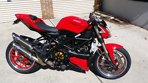Ducati streetfighter Calwell Tuggeranong Preview