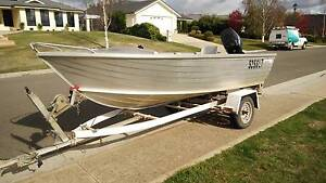 4 metre stacer tinnie 30 hp mercury Prospect Vale Meander Valley Preview