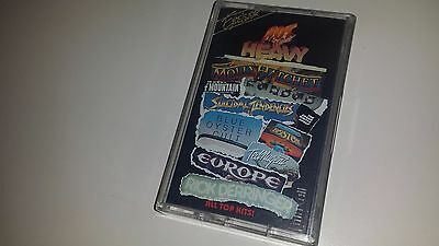 HOT N HEAVY - ROCK COMPILATION BLUE OYSTER TED NUGENT - SONY 24721 - CASSETTE