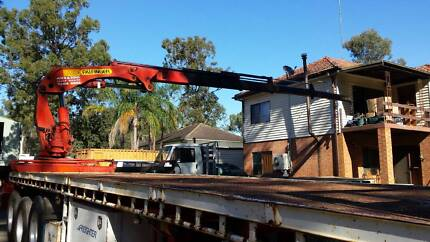 Crane Truck Hire Rose Bay Eastern Suburbs Preview