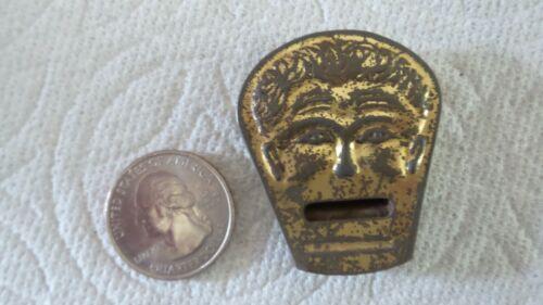 Antique TIN WHISTLE Figural, Man, Cracker Jack
