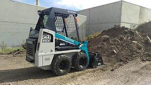 Mini Bobcat hire, dry hire , wet hire, skid steer Patterson Lakes Kingston Area Preview