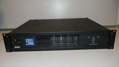 Used, QSC CX302 2 Channel Amplifier 2 x 200 W @ 8Ω, 1200W @ 4Ω Bdg. PowerLight Tech for sale  Phoenix