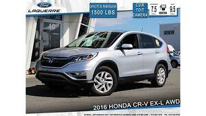 2016 Honda CR-V EX-L**AWD*CUIR*TOIT*CAMERA*BLUETOOTH*A/C**