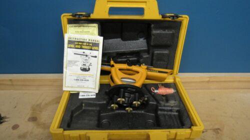BERGER INSTRUMENTS Model 200B Transit Surveying Level with Case
