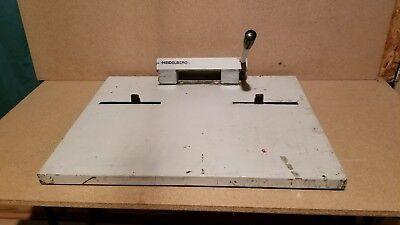 Tk47  Plate Punch For Heidelberg Quickmasterprintmaster