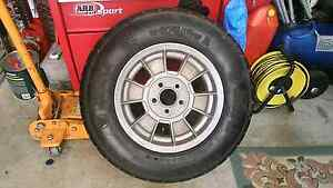 Boat trailer wheel tyre vgc ht stud pattern car holden Bligh Park Hawkesbury Area Preview