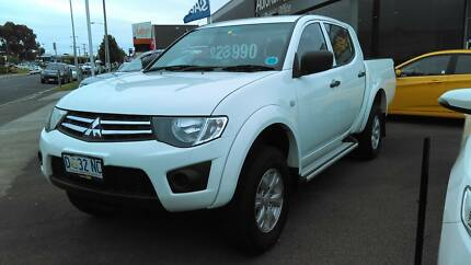 2013 Mitsubishi Triton Ute Devonport Devonport Area Preview