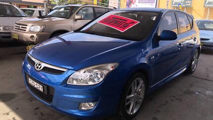 2008 Hyundai i30 SR Hatch ! Fully Serviced & Inspected !! Granville Parramatta Area Preview