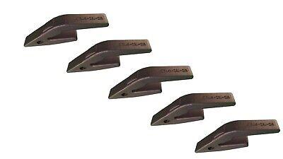 5 - Backhoe Skid Steer Bucket Weld On Shanks- Fits 23 230 Teeth - 2740-zw-23