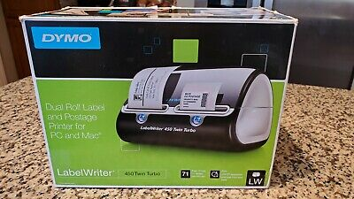 Dymo Label Writer 450 Twin Turbo Label Printer New Open Box