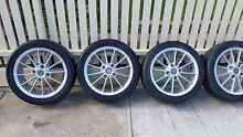 16 inch 4 stud PCD 4 x 114.3 205/45/16 mag wheels / rims set Ryde Ryde Area Preview