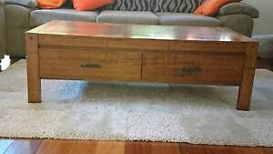 Tasmanian Oak Coffee Table Croydon Burwood Area Preview