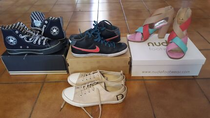 Women's converse & nude footwear size 7-8 Wavell Heights Brisbane North East Preview