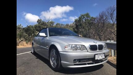 2002 bmw e46 330ci convertible Cranbourne North Casey Area Preview