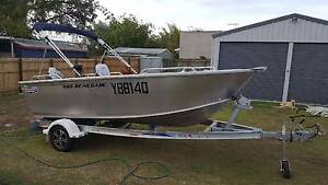 Quintrex renegade 4.60 metre 70hp yamaha t/s Manly West Brisbane South East Preview