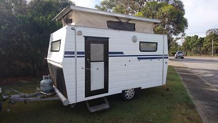 12ft pop top Caravan,. Honey mooners retreat