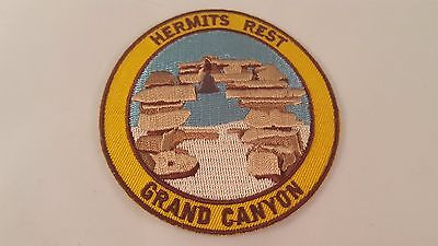 HERMITS REST GRAND CANYON PATCH (Sew on) National Park Arizona