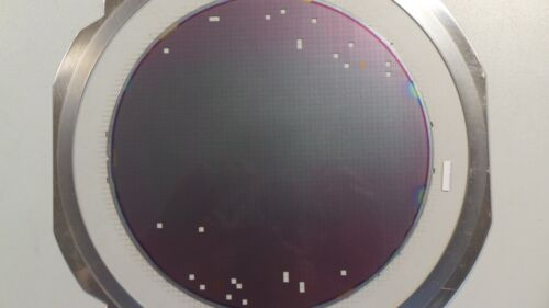 8 inch Silicon Wafer Test Mask Artistic Pattern #15