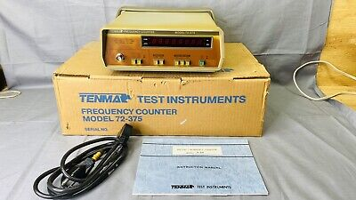 Tenma Test Instruments Model 72-375 Frequency Counter