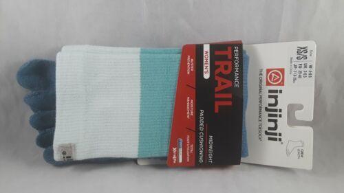 Womens Injinji Performance Trail Socks Mid Weight Size XS/S NEW NIP