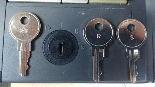 NCR EX R S Register Keys for 5932 Keyboard, RealPOS 6932, Dynakey 5952 5953 5954