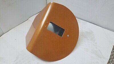 Original Pancake Brand Model 800 Welding Hood Right Side Left Hand - Brown