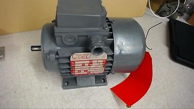 Coel H63b4 0.25 Hp Ac Motor 1630 Rpm 260-280460-480 Ip 54