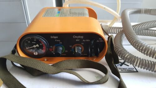 Oxylog Ventilator with Circuit and O2 hose, ready to use