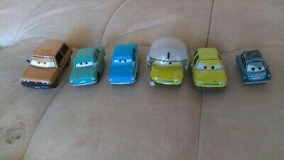 Disney Pixar Cars Lot Rare Lemons Professor Z Victor H Trunkovs Acer w/ Helmet