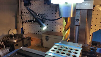 Upgrade For Milling Machine Spindle Light - Add A Magnetic Flex Light