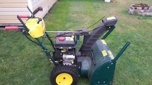 "Yard Man 26"" 277hp snow blower"
