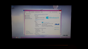 Asus f202e touch screen laptop with fresh install of windows 8 $ Little Mountain Caloundra Area Preview